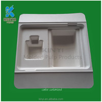 2016 hot selling molded paper pulp boxes