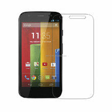 2015 Hot new 9H 2.5D round edge mobile phone tempered glass screen protector for Motorola Moto G 3rd gen