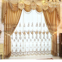 Best 100% polyester sofa or curtain fabric arabic curtains for home