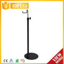 POP display rotating metal table top display stand with hooks HAN-ZB17 3135