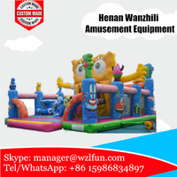 inflatable jumping bouncer/bouncy house/cheap bouncy castles for sale