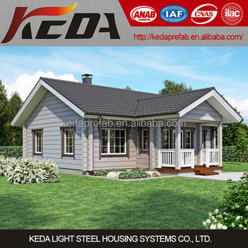 Light Steel Villa, Cheap Modern Prefab Homes for sale