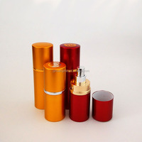 30/50ML Aluminum spraying perfume bottle,cosmetic packaging bottle,perfume tube