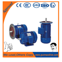 Aluminum housing three phase hp 120 volt electric motor 220v