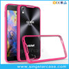 Wholesale TPU+Acrylic Clear Transparent Hard Cover Case For Blackberry Dtek50