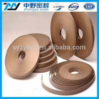 PTFE Bearing Strip/PTFE Wear belt filled bronze