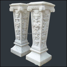 Natural Stone Decorative Roman Art Pillar for sale