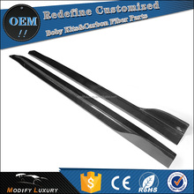 Modify Luxury Coupe 2d Carbon G37 Side Skirts for Infiniti G Series 07-13