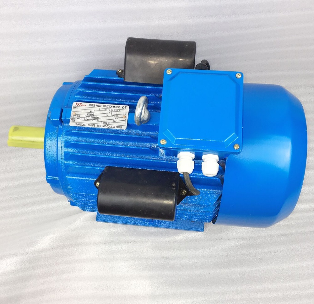 cast iron frame dual-capacitor YL series single phase electric motor 5 hp 4KW YL-112M-2