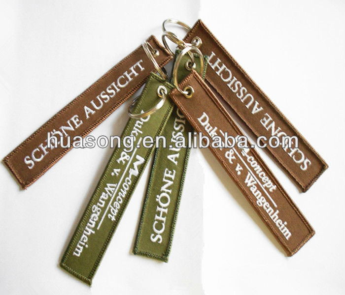 Keychain,key chain gps tracker ,hand embroidery designs(M-33),