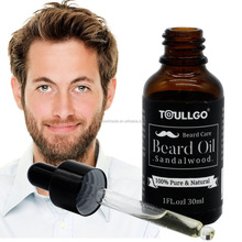 Organic Beard Oil , Scented with Sandal wood Conditioning Oil, OEM accepted