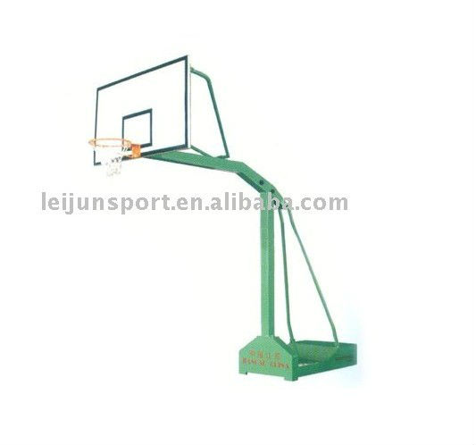 sports equipment-movable sigle arm basketball