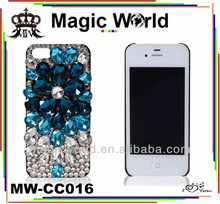 WATERDROP HANDMADE FANCY STYLE BLING BLING CELL PHONE CASES FOR IPHONE 4 4S 5 5S