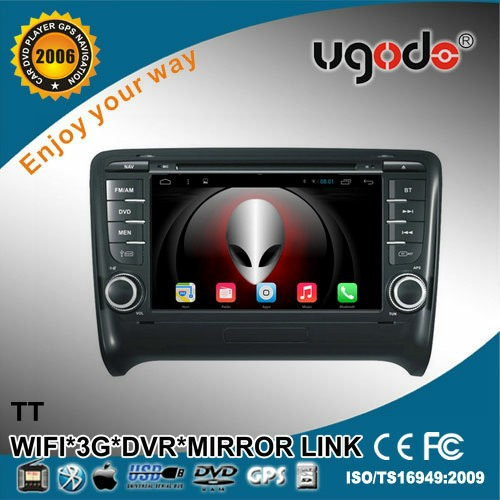 ugode U9 2din Android 4.4 6.0 Car DVD Radio GPS for TT Radio with Bluetooth WIFI 3G