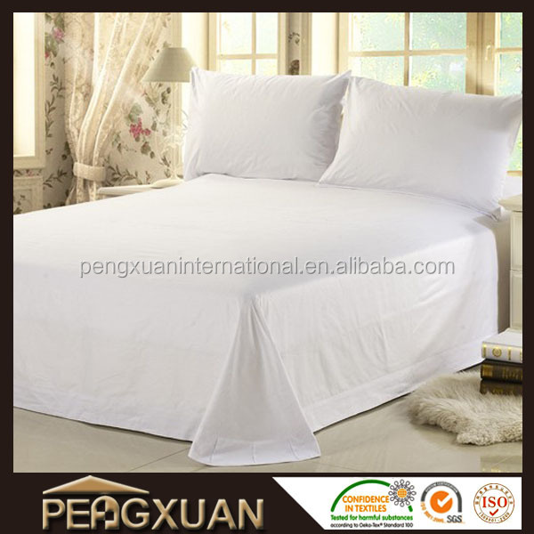 Factory price wholesale star hotels flat sheet