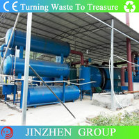 Used Tyre Pyrolysis Oil Machinery with PLC