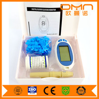 China 2016 New Product Medical Measuring Equipment Blood Glucose/Sugar Meter/Monitor Glucometer Glucometre Glucometro Glukometer