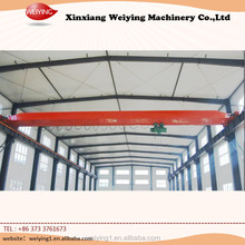 Steel Plant Workshop Bridge Crane Overhead Travelling Crane