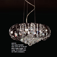 beautiful clear crystal balls lamp pendant/crystal lobby chandelier/crystal light fixture lighting led chandelier