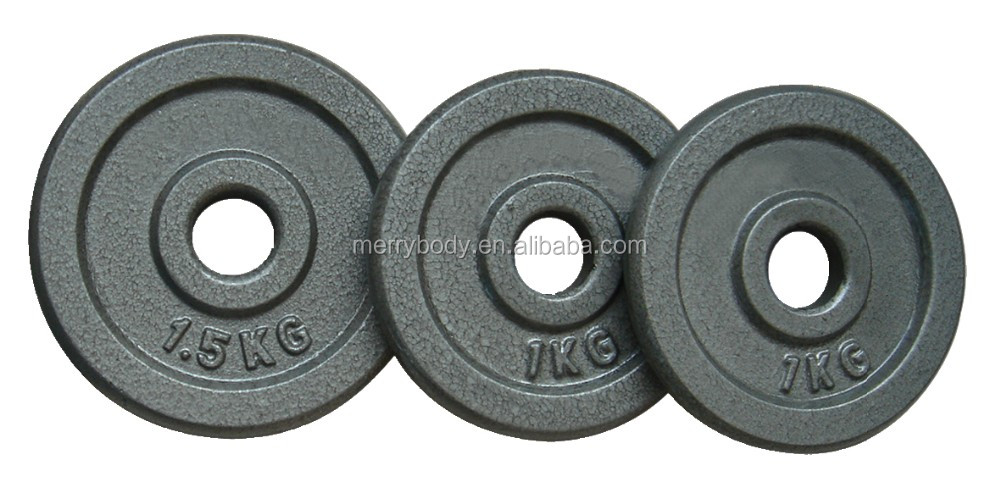 20kg adjustable black painted cast iron dumbell set
