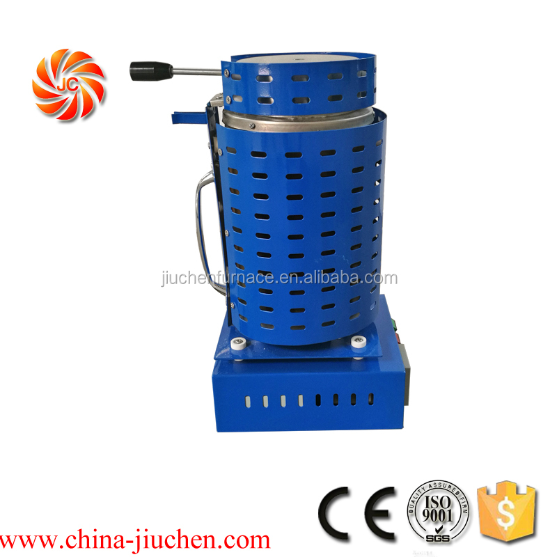 2kw Casting Refining melting furnace for Precious Metals lead