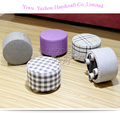 Wholesale new design cheap round foot stool