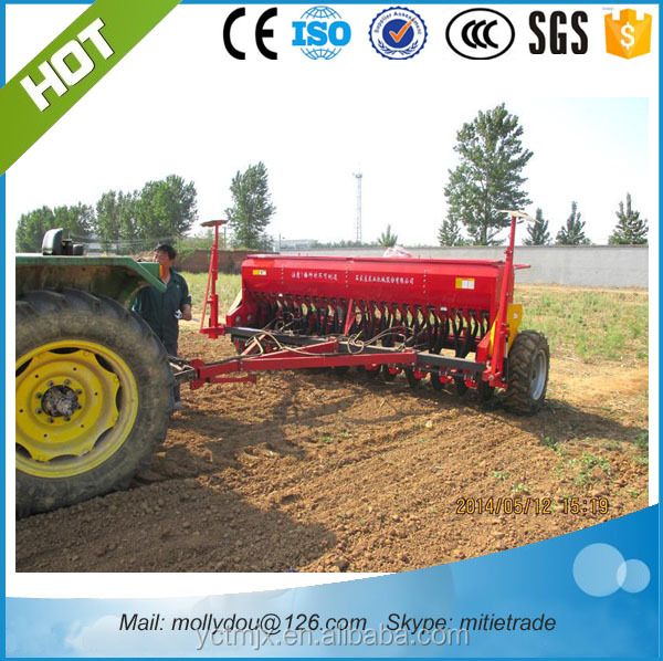 24rows no tillage seeder tractor trailed seed drill