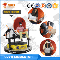 Virtual reality 5D movie ,9D cinema simulator cinema equipment factory