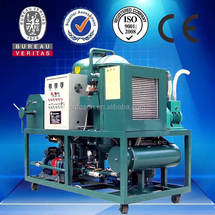 Vacuum distillation Used Lube Oil Recycling Equipment