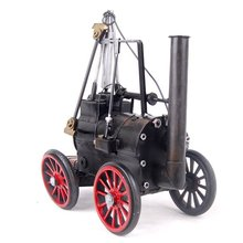 Metal crafts car Steam locomotive model