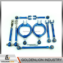 Adjustable suspension camber kit control toe arms tension rods traction rods lower traction link for Nissan 240SX S13