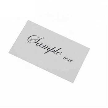 Personalized design spot UV art paper card with custom logo