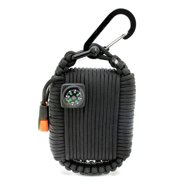 Customized Outdoor First Aid Paracord Emergency Disaster Survival Kit