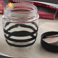Cheap price glass jam jars clear glass jars for jam