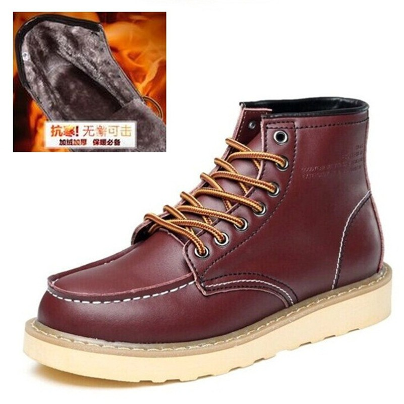 Wholesale Genuine Leather Mens Casual Boots 2017 New Fashion ...