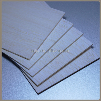 Thin Balsa Wood Sheet from Shanghai