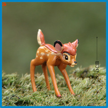 3D mini animal deer toy /animal deer min figure/custom oem mini figure