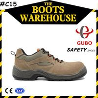 active leather shock absorption work shoes and boots