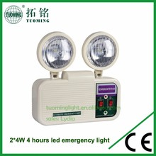 long lasting wall mounted led emergency light with test button