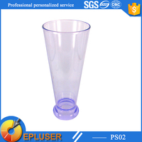 transparent plastic drinking glass 16oz wholesale red wine cup