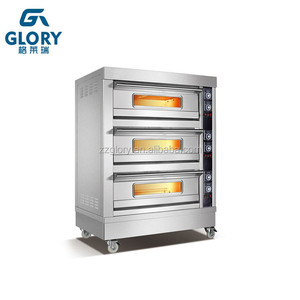 commercial bakery equipment 3 deck bakery oven for sale