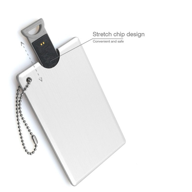 Promotional fashion exquisite 256 gb credit card usb stick free shipping , Free sample