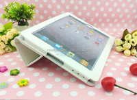 Luxury Retro Book kick Stand Leather Case Cover for Apple iPad 4 3 2