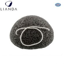 Activated Charcoal - Facial Sponge bamboo charcoal heart natural konjac sponge,exfoliating body sponge