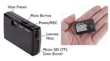 World Smallest 5mp HD Mini Camera mini hd digital video camera (Functions: Video and Photo taking)