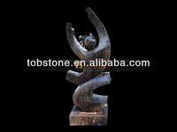 Chinese black marble sculpture for decoration