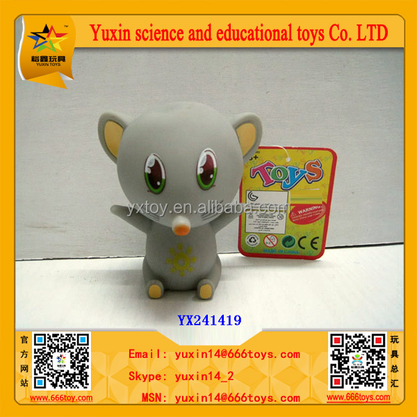 Soft Rubber Animal Toy Chinese Zodiac- Rat