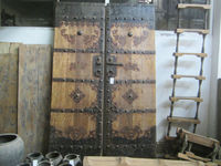 antique old chinese door