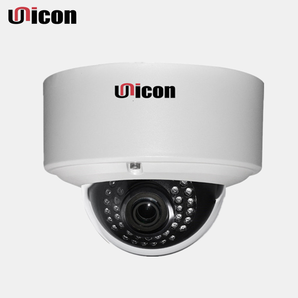 Unicon Vision ce fcc rohs QC passed night vision vandalproof outdoor ip camera for casino security