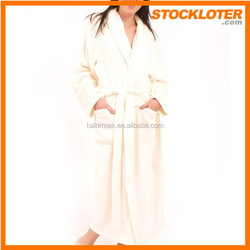 150301i Closeout night gown Ladies hooded Bathrobe overstock and surplus